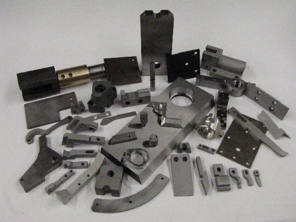 Milled Tooling and Spare Repair parts